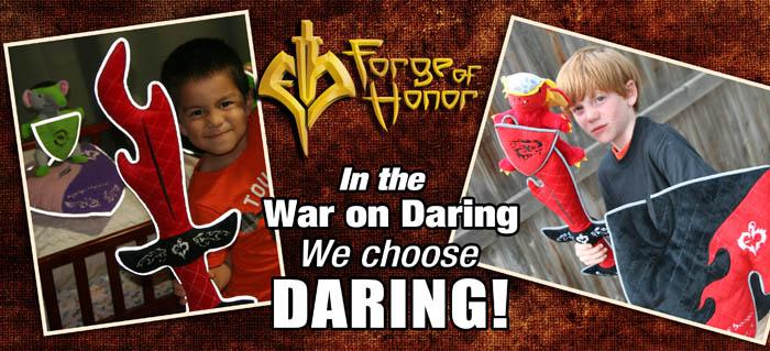 We choose Daring!
